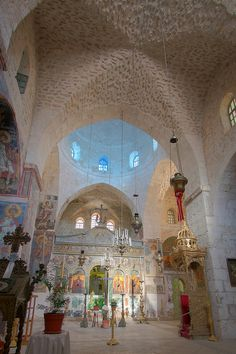 Monastery of the Valley of the Cross . Jerusalem