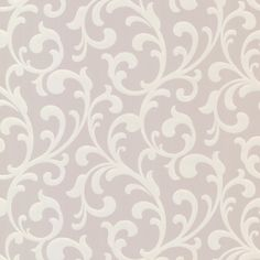 "Elements Catasse 33' x 20.5"" Scroll 3D Embossed Wallpaper"