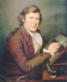 Charles Wilson Peale self portrait.