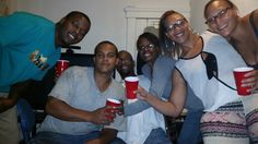 Red cup society..lol. Happy birthday Kanin. 24 years young:)