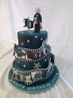 Hi, welcome to the Joy of Cake, where I offer a bespoke cake making and decorating service for all your celebrations and special occasions. Film Reels, Celebration Cakes, How To Make Cake, Special Occasion, Joy, Celebrities, Shower Cakes, Celebs, Glee