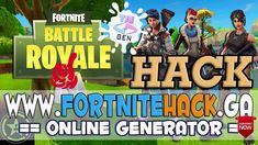 FORTNITE HACK/CHEATS - UNLIMITED FREE V-Bucks and Upgrade - Working 100%...