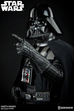 The Darth Vader SIxth Scale Figure is available at Sideshow.com for fans of Star Wars Episode VI Return of the Jedi and Sith Lords.