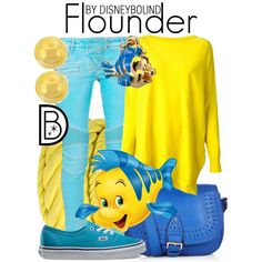 Flounder by leslieakay on Polyvore featuring ISOLA MARRAS, Balmain, Vans, Monsoon, Natalia Brilli, Lord & Taylor and Disney