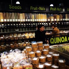 Whole foods markets for bulk shopping without waste! Which place do you like best? Drop a link! #plasticfreetuesday.com