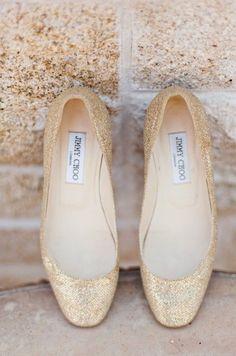 Jimmy Choo flats - a wedding shoe contender #jimmychoocinderella #jimmychooflats