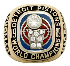 1989 detroit pistons championship replica rings basketball World championship ring sports basketball championship rings Detroit Basketball, Detroit Sports, Sports Basketball, Nba Championship Rings, Nba Championships, Nba Rings, Baseball Ring, Detroit Vs Everybody, Curry Nba