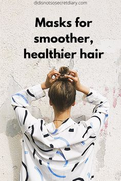 Masks For Smoother, Healthier Hair, This product will strengthen your hair and make it healthier,  improves hair's texture with help from...find out more... #hair#product#care