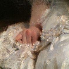 John Singer Sargent brushwork