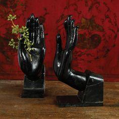 Zen Hand Bookends - HomArt   domino.com