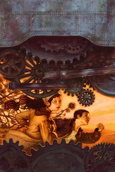 mJon Foster Jon Foster graduated form Rhode Island School of Design in 1989 with a BFA In illustration. Steampunk Illustration, Art Et Illustration, Magazine Illustration, Diesel Punk, Rhode Island, Cyberpunk, Wells, Between Two Worlds, Fantasy Paintings