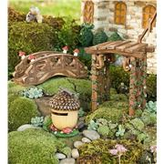 Fairy Village Special - 5 Fairy Houses Fairy Set | Fun With Gardening