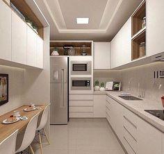 Küche Home Dekor – Home Design Ideas – Welt der Deutschen Kitchen Sets, Home Decor Kitchen, Interior Design Kitchen, Home Design, Home Kitchens, Space Kitchen, Red Kitchen, Interior Modern, Traditional Decor