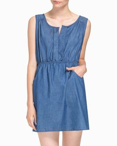 Love this basic dress.  So many options for styling