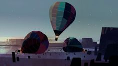 BUCK Concept Art Balloons