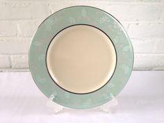 Castleton China Corsage Pattern Dinner Plates by VintageTakes