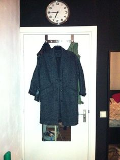 12-nov 18.45, at home  Here it is hanging on my coat rock. I'm very happy with my latest purchase!!