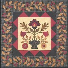 Flower Applique Quilt Patterns   Flowers for Madeline applique quilt pattern by Lori Smith My Heart to ...