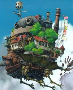 HOWELL'S MOVING CASTLE