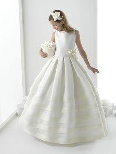 imagenes de vestidos de comunion bellos