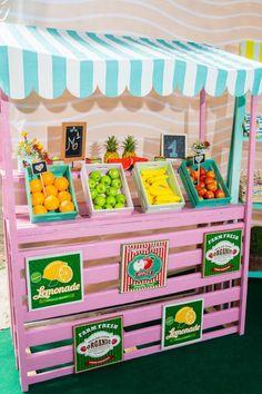 17 ideias para festa infantil tema frutas
