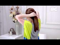Gossip Girl Fishtail Braid Hairstyle