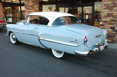 1953 Chevy Bel Air Maintenance of old vehicles: the material for new cogs/casters/gears/pads could be cast polyamide which I (Cast polyamide) can produce Chevrolet Bel Air, Chevrolet Impala, Chevy, Vintage Cars, Antique Cars, Retro Cars, Cj Jeep, Gm Car, Toyota