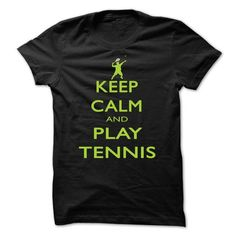 Keep calm and play tennis #lace tee #cute hoodie. SATISFACTION GUARANTEED  => https://www.sunfrog.com/Funny/Keep-calm-and-play-tennis-bpsd.html?id=60505