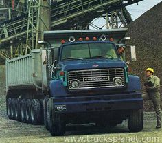 New for 1970 was the heaviest Series 90 with lbs rear axle as standard equipment, and lbs as an option. Standard on Series 90 models was a new Dump Trucks, Cool Trucks, Big Trucks, General Motors, Chevrolet Trucks, Chevy, Ashok Leyland, Dump Trailers, Road Train