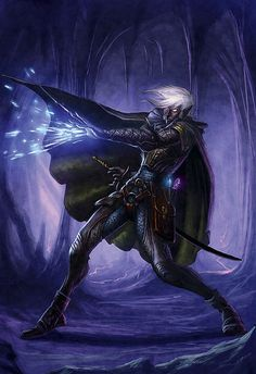 All sizes | drow swordmage | Flickr - Photo Sharing!