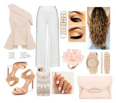 A fashion look from August 2015 featuring one shoulder tops, plus size pants and Schutz. Browse and shop related looks. Anne Klein, Casetify, Givenchy, Idol, Forever 21, Shoe Bag, Polyvore, Stuff To Buy, Accessories
