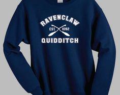 Ravenclaw de Quidditch Harry Potter sudadera camiseta por SaBuy