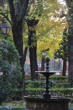 Jardines del Prado. Talavera de la Reina.