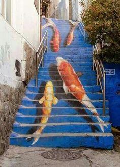 Street art by Kevin Lowry