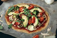 2-Zutaten Pizzaboden aus Quinoa- Vegan & Glutenfrei