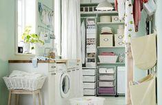 Cómo organizar y decorar la lavandería en casa – Casafan.tv