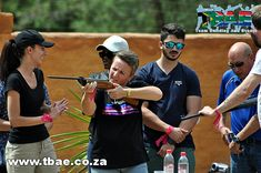 Roytec Global Hitting The Target team building event in Midrand, facilitated and coordinated by TBAE Team Building and Events Team Building Events, Target, Mens Sunglasses, Man Sunglasses, Men's Sunglasses, Target Audience