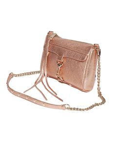 Rebecca Minkoff 'Mini Mac' Rose Gold Handbag