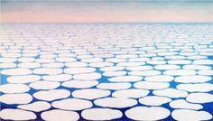 Sky above clouds III - Georgia O'Keeffe Fecha de finalización: 1963 Estilo: Precisionismo Genero: paisaje nube