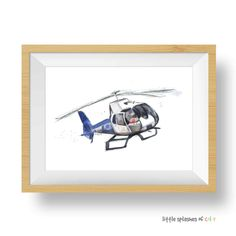 Life Flight Helicopter Printable