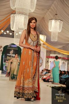 Rani Emaan Bridal Collection 2012 At Pantene Bridal Couture Week