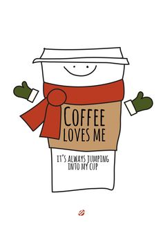#LostBumblebee 2013 #FreePrintable Coffee Loves Me  #christmas Coffee Love.