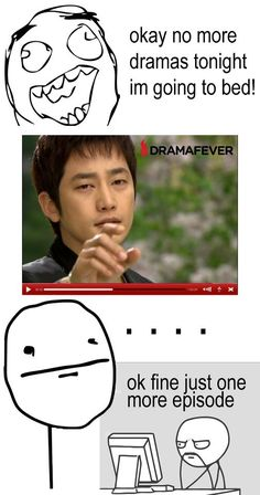 #kdramahumor this is so true but..... I need to get out of this cycle soon enough!