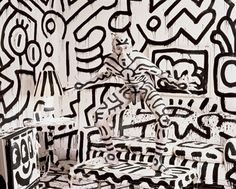 Annie Leibovitz Keith Haring in 1987