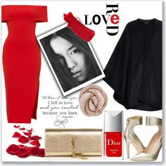 Love Red by kioriknight on Polyvore featuring Joseph, Via Spiga, Yves Saint Laurent, Chanel, Christian Dior, women's clothing, women's fashion, women, female and woman