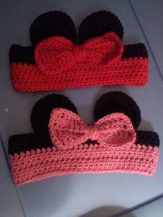 minnie mouse headbands by LyndsaysCraftyWorld on Etsy, $7.00