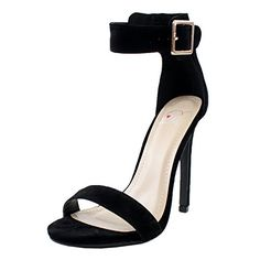 Women High Stiletto Heel Dress Sandal With Ankle Straps. (6.5 M US, Black Lami) Delicious http://www.amazon.com/dp/B00NCE7DII/ref=cm_sw_r_pi_dp_Ovievb1ZX9Z19