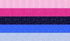 glittery omnisexual flag, anyone? #pride #pansexual #omnisexual #omni #pan #lgbt #gay