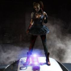 Arkham Knight: Harley Quinn by Irishhips on DeviantArt Batman Arkham Knight, Deadshot, Riddler, Two Faces, 3d Max, Catwoman, Harley Quinn, Wonder Woman, Deviantart