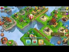 Sky Clash Lords of Clans 3D - RPG GAMEplay - Sky Clash Lords of Clans 3D is a Free Android Role Playing Mobile Multiplayer Game featuring empires on floating island